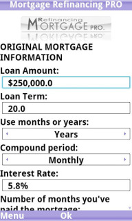Mortgage Refinancing PRO Trial For Android V1.4.3 Mobile Software
