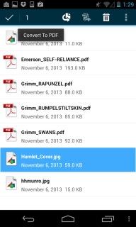 Adobe Reader For Android Phones V 11.1.2 Mobile Software