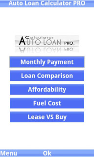 Auto Loan Calculator PRO Trial For Java Phones V 2.0.3 Mobile Software