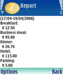 Handy Expense For Symbian Phones V 3.03 Mobile Software