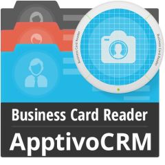 Business Card Reader For Apptivo CRM Mobile Software