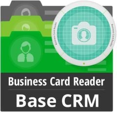 Business Card Reader For Base CRM Mobile Software