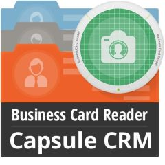 Business Card Reader For Capsule CRM Mobile Software