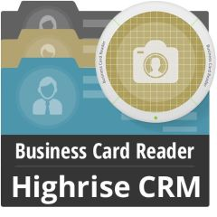 Business Card Reader For Highrise CRM Mobile Software