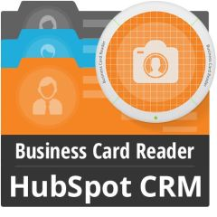 Business Card Reader For HubSpot CRM Mobile Software