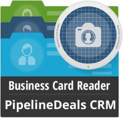 Business Card Reader For PipelineDeals CRM Mobile Software