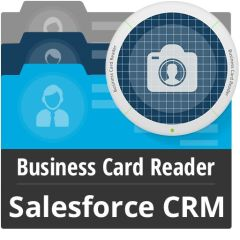 Business Card Reader For Salesforce CRM Mobile Software