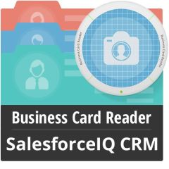 Business Card Reader For SalesforceIQ CRM Mobile Software