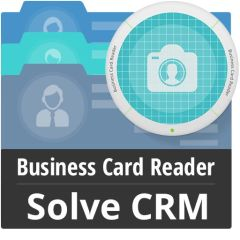 Business Card Reader For Solve CRM Mobile Software