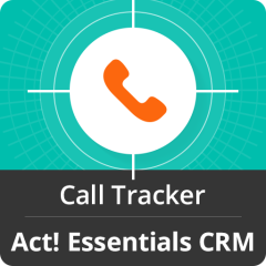 Call Tracker For Act! Essentials Mobile Software