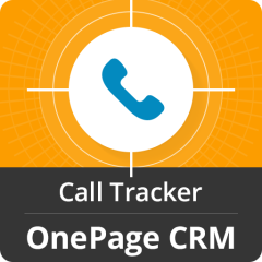 Call Tracker For OnePage CRM Mobile Software