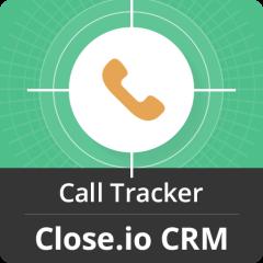 Call Tracker For Close.io Mobile Software