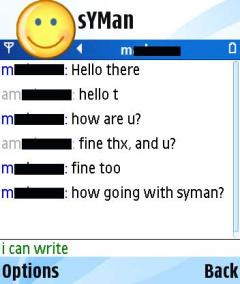SYMan  V0.7.5 Mobile Software