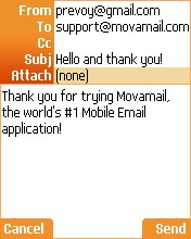 Mova Messenger V1.0.84 Mobile Software