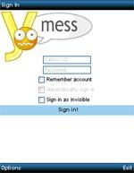 YMess  V0.9 Mobile Software
