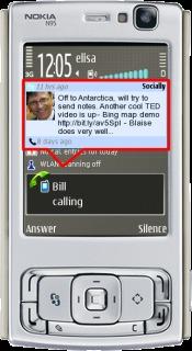 Socially 1.1 Mobile Software