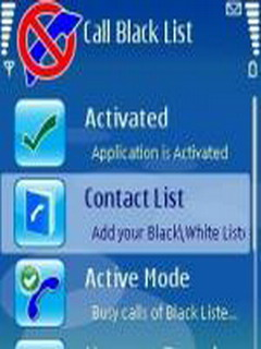 Call Blacklist Mobile Software