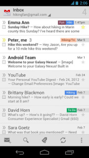 Gmail For Android Phones V4.5.2-714156 Mobile Software