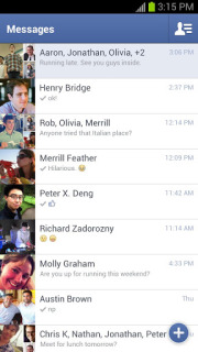 Facebook Messenger Free For Android Phones V2.6.1 Mobile Software
