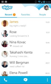 Skype - Free IM And Video Calls For Android V4.4.0.34403 Mobile Software