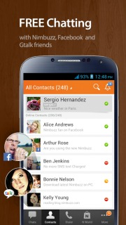 Nimbuzz Messenger For Android Phones V2.6.4 Mobile Software