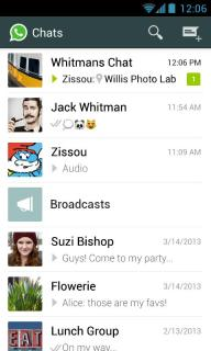 WhatsApp Messenger For Android Phones V2.11.152 Mobile Software