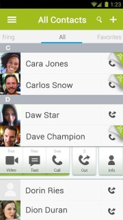 Fring Free Calls Video And Text For Android Phones V 4.5.1.1 Mobile Software