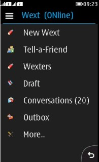 Wext For Java Phones V 2.0 Mobile Software