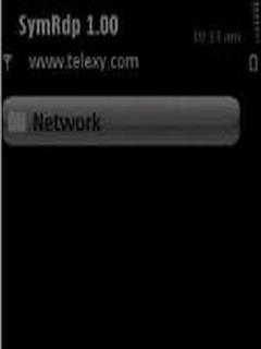 SymRDP For Symbian Phones V 1.00.47 Mobile Software