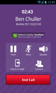 Viber For Android Phones V 5.0.1.36 Mobile Software