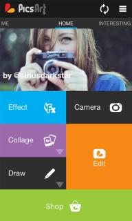 PicsArt Photo Studio For Android Phone Mobile Software