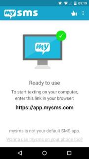 MySMS Free Android Phone Mobile Software