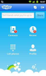 Skype Free IM & Video Calls Apk Apps Mobile Software