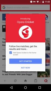 Opera Mini Mobile Software