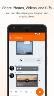 Voxer Walkie Talkie Messenger Mobile Software