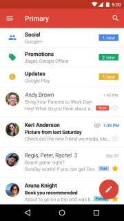 Gmail Mobile Software