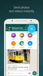 WhatsApp Messenger Mobile Software