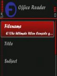 OfficeReader Mobile Software