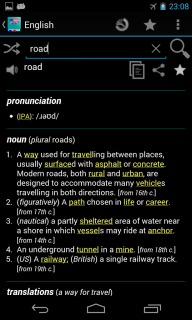 English Dictionary  Offline For Android Phones V2.0.5 Mobile Software