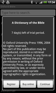 MSDict Oxford Dictionary Of The Bible Windows Mobiles V8.30 Mobile Software