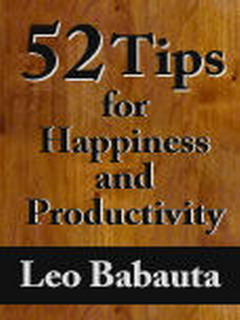 52 Tips For Happiness And Productivity Java Phones V2.2.0 Mobile Software