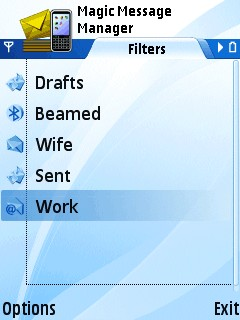 Magic Message Manager For Symbian Phones V 1.3 Mobile Software