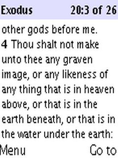 New Testament Go Bible For Java Phones V 2.2 Mobile Software