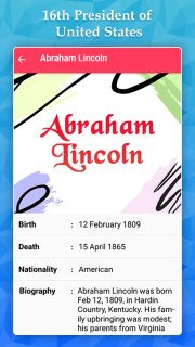 Abraham Lincoln Life Quotes Mobile Software