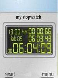 My StopWatch Mobile Software