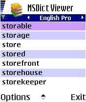 Msdict Irregular Verbs Mobile Software