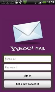Yahoo! Mail V1.3.3 Mobile Software