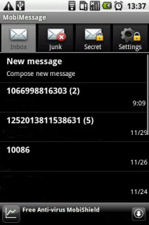 MobiMessage 3.8.1 Mobile Software