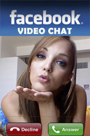 Facebook Video Chat Mobile Software