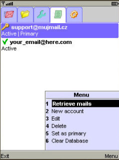 MujMail Mobile Software